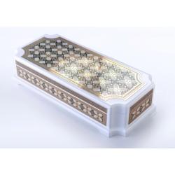 Islamic rectangular inscription box